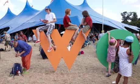 Womad festival, day one