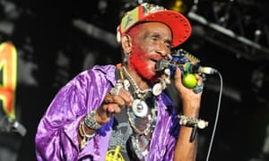 Lee 'Scratch' Perry performs on stage at WOMAD Festival 2013