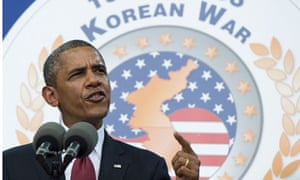 Barack Obama Korea