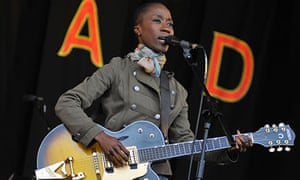 Rokia Traore performs on stage during Day 3 of the WOMAD Festival 2013