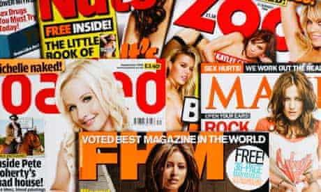 Various men's lifestyle magazines