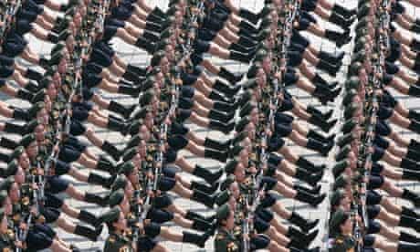 North Korean war parade