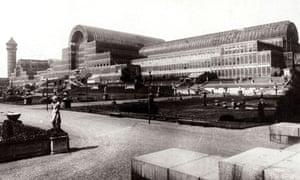 Crystal Palace, c. 1900