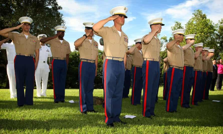 US marines in Darwin