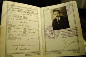Famous Peoples Passports: Albert Einstein