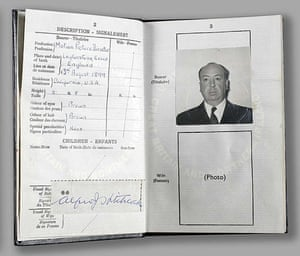 Famous Peoples Passports: Alfred Hitchcock
