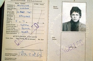 Famous Peoples Passports: Marc Bolan