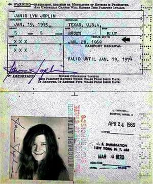 Famous Peoples Passports: Janis Joplin