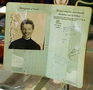 Famous Peoples Passports: Katharine Hepburn