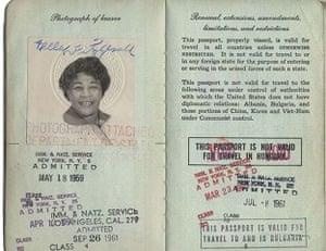 Famous Peoples Passports: Ella Fitzgerald