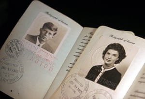 Famous Peoples Passports: The Kennedys