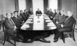 All male boardroom