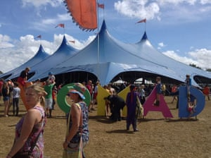 GuardianWitness WOMAD: The Siam Tent