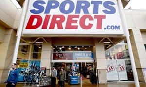 A Sports Direct shop