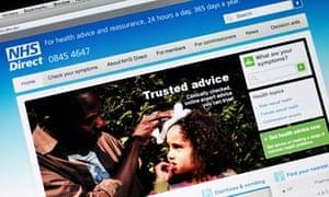 NHS Direct website