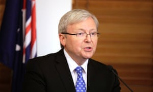 Prime Minister Kevin Rudd has given the government a much-needed bounce in the polls after resuming the leadership. (AP Photo/Rick Rycroft)