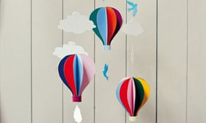 Craft Project Hot Air Balloon Mobile From Belle Boo Life And
