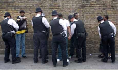 UK - Notting Hill Carnival - Police search black youth