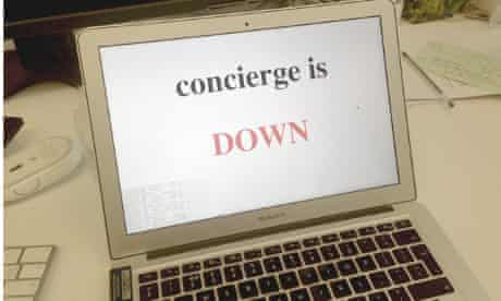 """The bleeding-edge monitoring dashboard for a service we're working on called """"concierge"""". Ten minutes to write, one second to parse"""