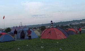 Glastonbury festival, 2013.