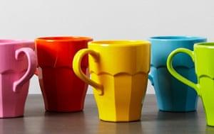 Park Picnic - coloured melamime cups