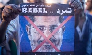 Protest against President Mohamed Morsi in Cairo, Egypt