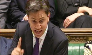 Ed Miliband at prime minister's questions 3 July 2013