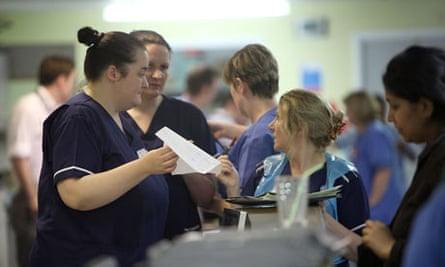 Nurses in NHS hospitals say they are often too busy to deliver all care duties.