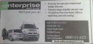 Enterprise Rent A Car Milford Haven