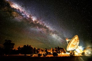 Astronomy shortlist: Receiving the Galactic Beam