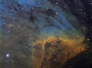 Astronomy shortlist: Herbig-Haro Objects in the Pelican Nebula