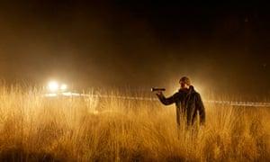 Richard Harrington filming Hinterland