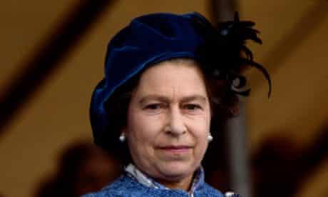 queen elizabeth II in 1983