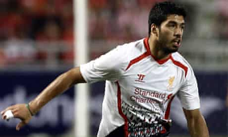 Luis Suárez in action for Liverpool
