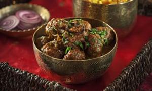 Kofta – Indian meatballs.