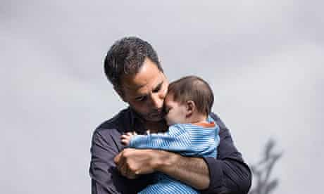 Yotam Ottolenghi with his son Max