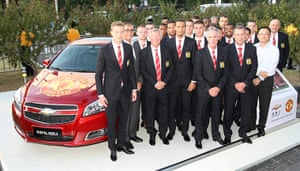 Manchester United commercial deals: Chevrolet
