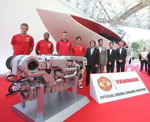 Manchester United commercial deals: Yanmar press conference