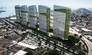 Top Trumps … Donald Trump plans up to five new towers for Rio's port district.