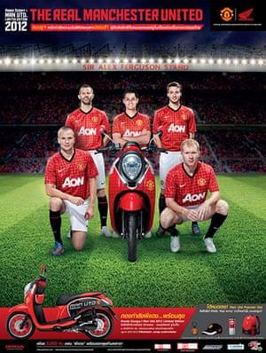 Manchester United commercial deals: Honda