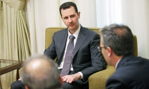 Bashar al-Assad hailed Morsi'd downfall during an interview with the al-Thawra newspaper in Damascus.