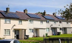 Small investors in solar panels are being offered high returns