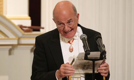 Lord Judge, the lord chief justice, received a standing ovation after his speech to HM judges