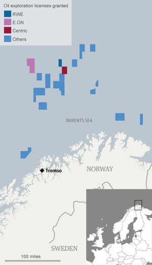 Norway oil licences
