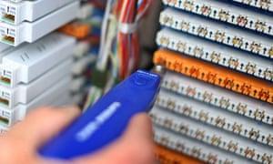 Fibre-optic broadband