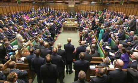 A general view of MPs in the House of Commons