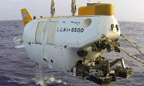 The Shinkai6500 deep-sea submersible