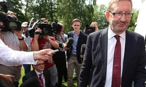 McCluskey attends NHS 65th birthday party