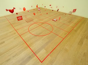 Do It 2013: Alison Knowles, Homage to each red thing, 1996