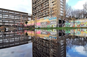 Zadie Smith: Reflecting the Urban Graffitti at the Trellick Tower [West LDN]
